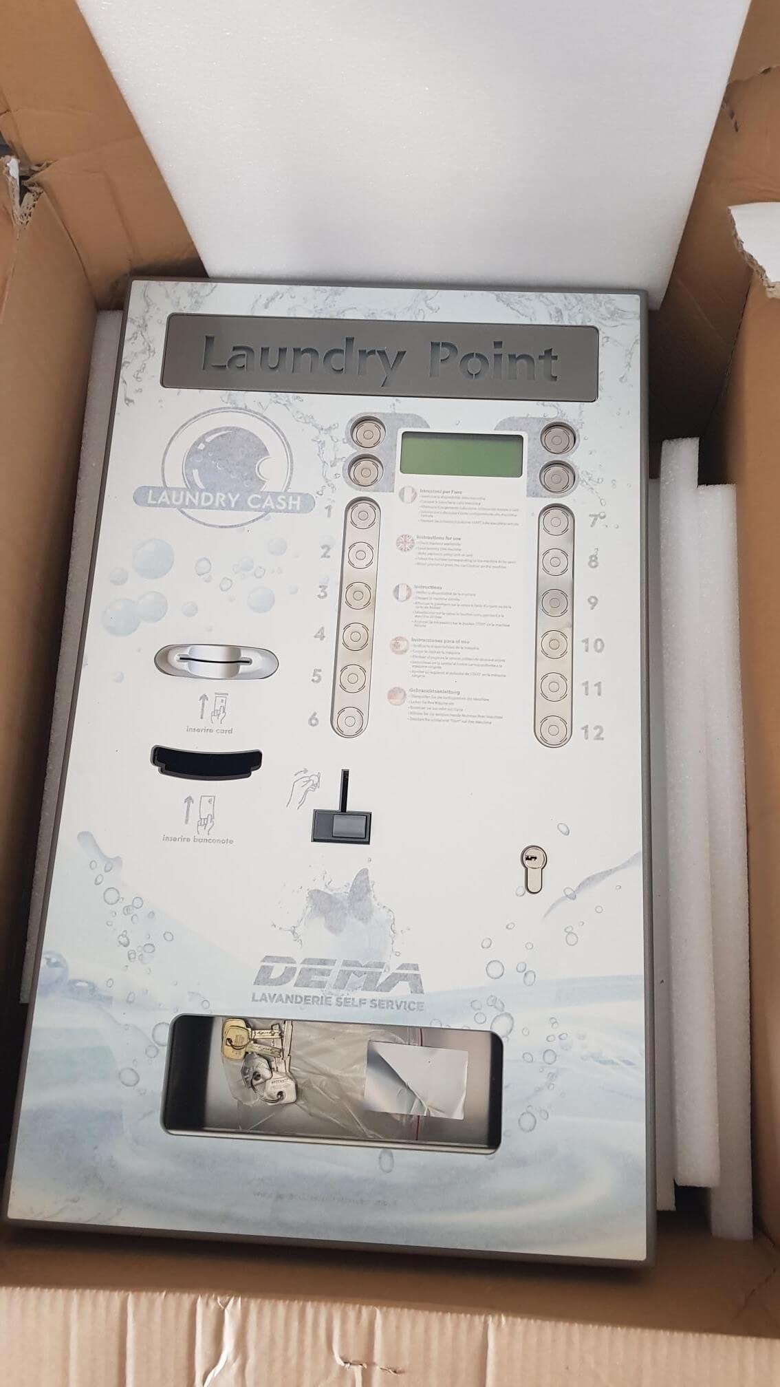 laundry point cassa centralizzata 12 selezioni €3500 oppure noleggio €67 al mese
