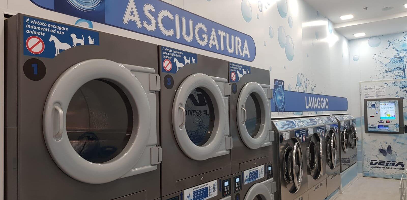 La prima azienda in italia che apre una lavanderia self service in un centro commerciale